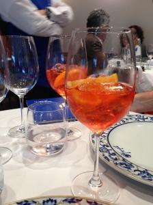 "The ""Spritz""  Aperol, Prosecco and Sparking Aqua"
