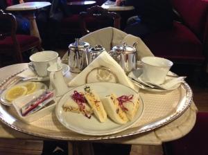 Tea and Trammezino at Florian.