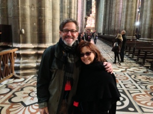 Inside the Duomo di Milano