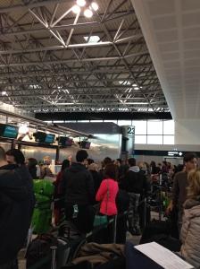 Crazy check-in at Alitalia