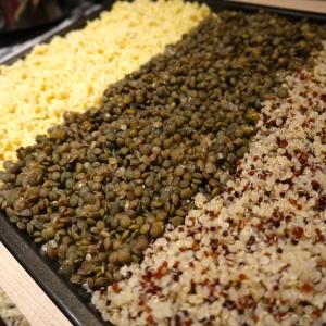 millet quinoa lentil