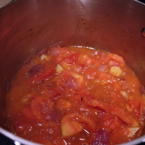 stewing tomatoes