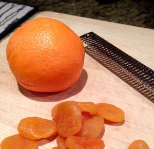 Orange and apricot.