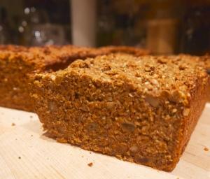 Raisin-Walnut Brown Bread
